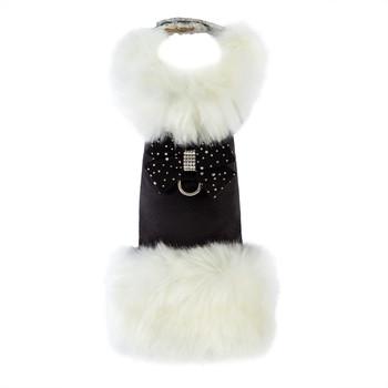 White Fox & Stardust Nouveau Bow Dog Coat - Choose Your Color