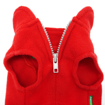 Essential Fleece Dog Vest - Red