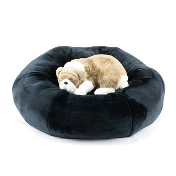 Designer Plush Black Spa Bed