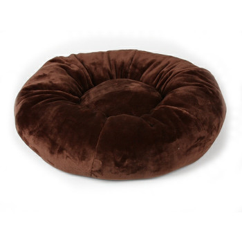 Designer Plush Chocolate Spa Bed