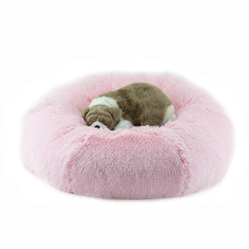 Designer Plush Puppy Pink Shag Spa Bed