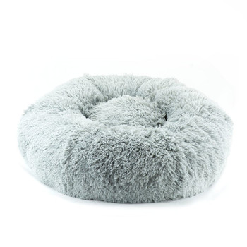 Designer Plush Platinum Shag Spa Bed