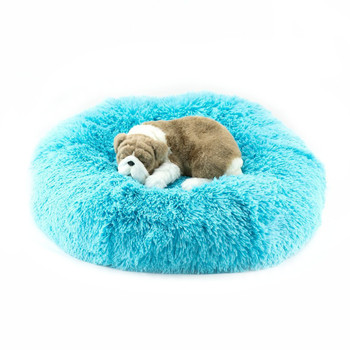 Designer Plush Aqua Shag Spa Bed