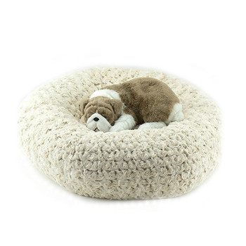 Designer Plush Frosted Camel Spa Bed