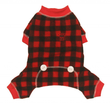 Buffalo Plaid Lumberjack Long Johns Dog Pajamas