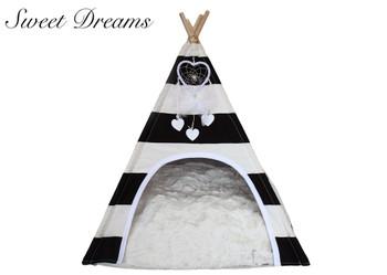 Sweet Dreams TeePee Dog Bed