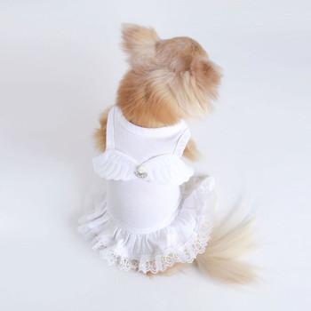 Pure White Lil' Angel Dog Dress