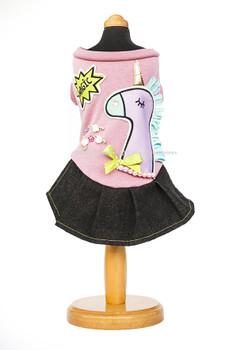 Designer Magic Pony Dog Dress