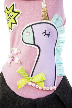 Designer Magic Pony Dog Dress