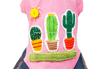 Designer Cactus Dog Dress