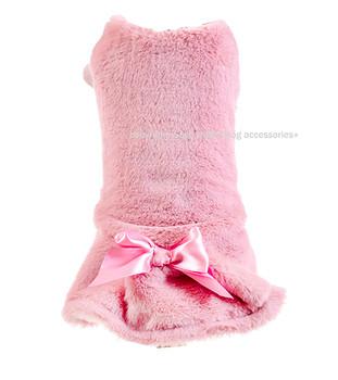 Designer Pink Pompadour Dog Dress