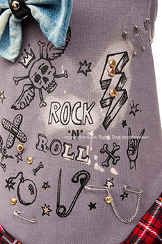 Designer Rock N Roll B*tch Dog Dress