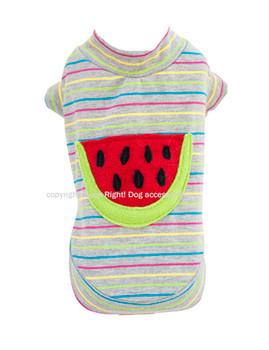 Designer Watermelon Dog Shirt