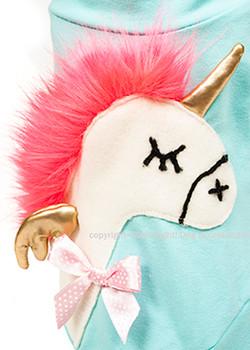 Designer Neon Pink Hair Pony Dog T-Shirt