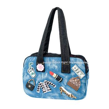 Designer A Real Fashionista Zipper Pet Bag