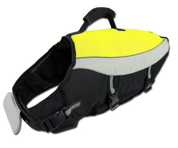 Pet Dog Water Adventure Life Jacket - Neon Yellow