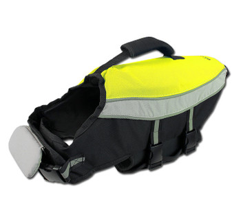 Pet Dog Water Adventure Life Jacket - Neon Yellow