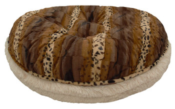 Bagel Pet Dog Bed - Blondie and Wild Kingdom - 5 sizes