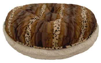 Bagel Pet Dog Bed - Blondie and Wild Kingdom - 5 sizes