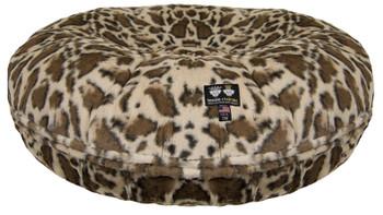 Bagel Pet Dog Bed - Giraffe - 5 sizes