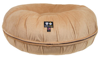 Bagel Pet Dog Bed - Divine Caramel - 5 sizes