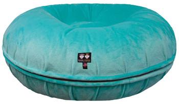 Bagel Pet Dog Bed - Aqua Marine - 5 sizes