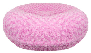 Bagel Pet Dog Bed - Cotton Candy Pink - 5 sizes