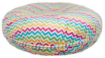 Bagel Pet Dog Bed - Ocean Wave - 5 sizes