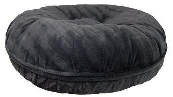 Bagel Pet Dog Bed - Gravel Stone - 5 sizes