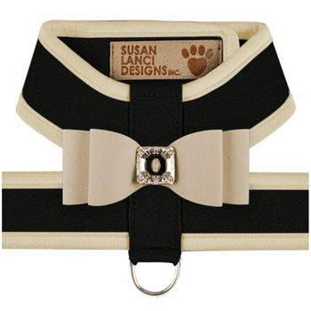 Big Bow Tinkie Harnesses - Black / Doe Trim & Bow