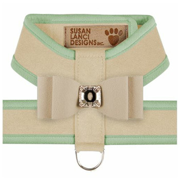 Big Bow Tinkie Harnesses - Doe / Mint Trim & Bow