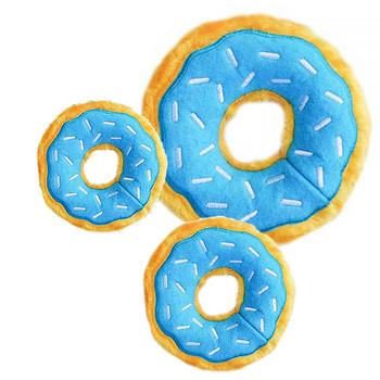 Sprinkles Donutz Pet Dog Toy - Blueberry - 3 Sizes