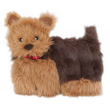 Squeakie Pup Dog Toy, 11 Squeakers - Yorkie
