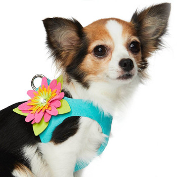 Custom - Island Flower Step In Dog Harness - Choose your color