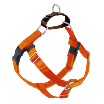 Rust Freedom No-Pull Dog Harness & Optional Leads -1""
