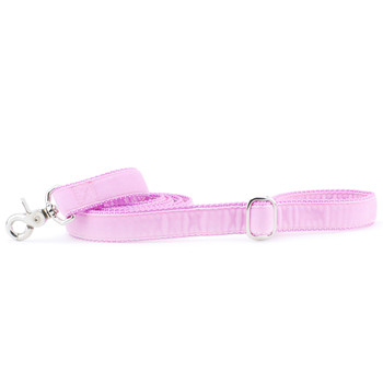 Light Pink Swiss Velvet Dog Leash