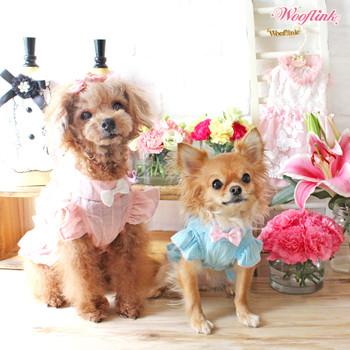 Wooflink Ruffle Dog Blouse - Pink
