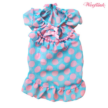 Wooflink Baby Doll 2 Dog Dress - Blue