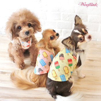 Wooflink Popsicles Dog Top - Pink