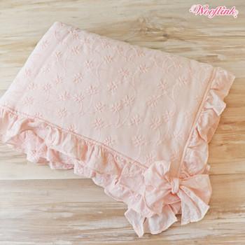 Wooflink Lazy Afternoon Dog Blanket - Pink