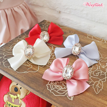 Wooflink Olivia Dog Hair Bow Barrettes