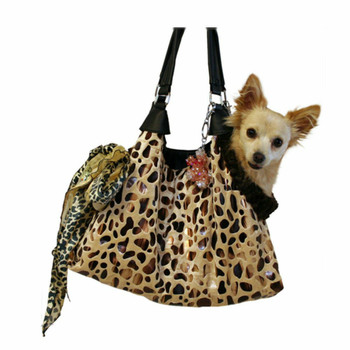 Tan RunAround Pet Dog Tote by Pet Flys