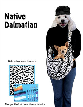Native Dalmatian Puppy Dog Sling by Pet Flys