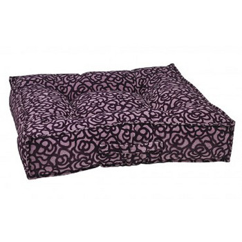 Mulberry Microvelvet Piazza Pet Dog Bed