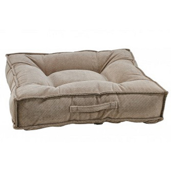 Cappuccino Treats Microvelvet Piazza Pet Dog Bed