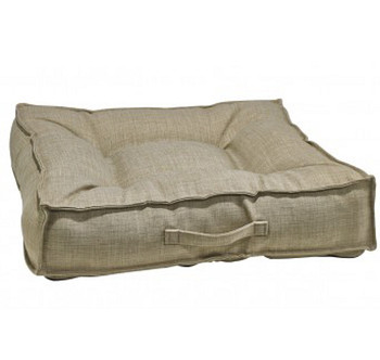 Flax Microlinen Piazza Pet Dog Bed
