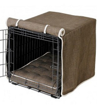 Driftwood Microlinen Crate Cover