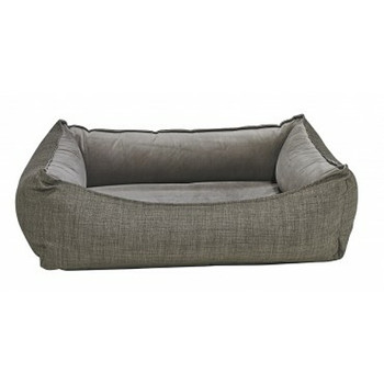 Oslo Ortho Pet Dog Bed - Driftwood Microvelvet
