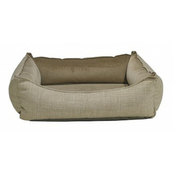 Oslo Ortho Pet Dog Bed - Flax Linen