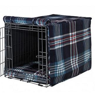 Glen Meadow Tartan Crate Cover